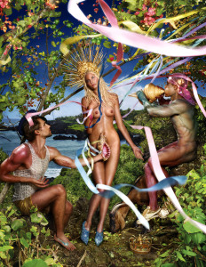 Rebirth of Venus Creative Exchange Agency, New York, Steven Pranica / Studio LaChapelle 2009 by David LaChapelle (c) David LaChapelle