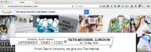 Internet Yami-Ichi (Black Market) event at Tate Modern