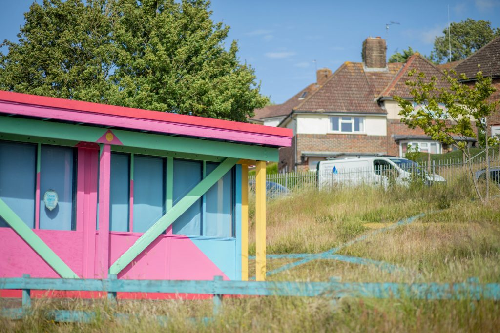 A Simple Act of Wonder - by Walter & Zoniel spreads colourful, rainbow works throughout Brighton FAD magazine