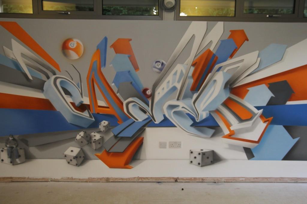 5 Street Artist SOAP canvas
