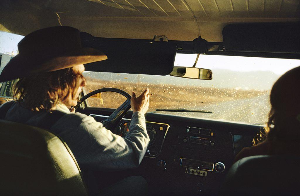 Untitled, 1970 - Dennis Hopper by William Eggleston, 1970–74 ©Eggleston Artistic Trust