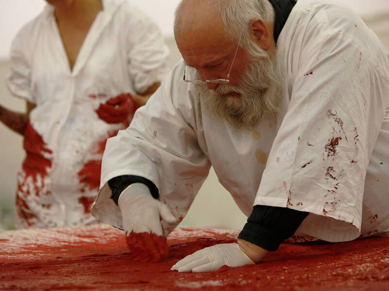 New Hermann Nitsch exhibition  FAD magazine