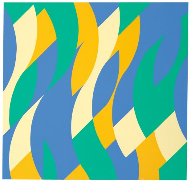 Reve, 1999 © 2015 Bridget Riley. All rights reserved, courtesy Karsten Schubert, London Please credit Bridget Riley 2015, courtesy Karsten Schubert, London Press image sent from janettescottartspr@gmail.com
