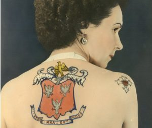 Jessie Knight, Britain's first female tattoo artist