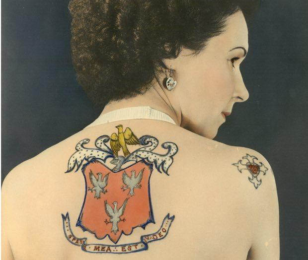 Jessie Knight, Britain's first female tattoo artist