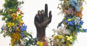 This is he first exhibition in Europe of established contemporary artist and activist Nick Cave.