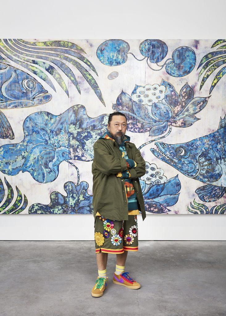 portrait of Takashi Murakami as: Photo: Claire Dorn. Courtesy Gagosian.FAD magazine