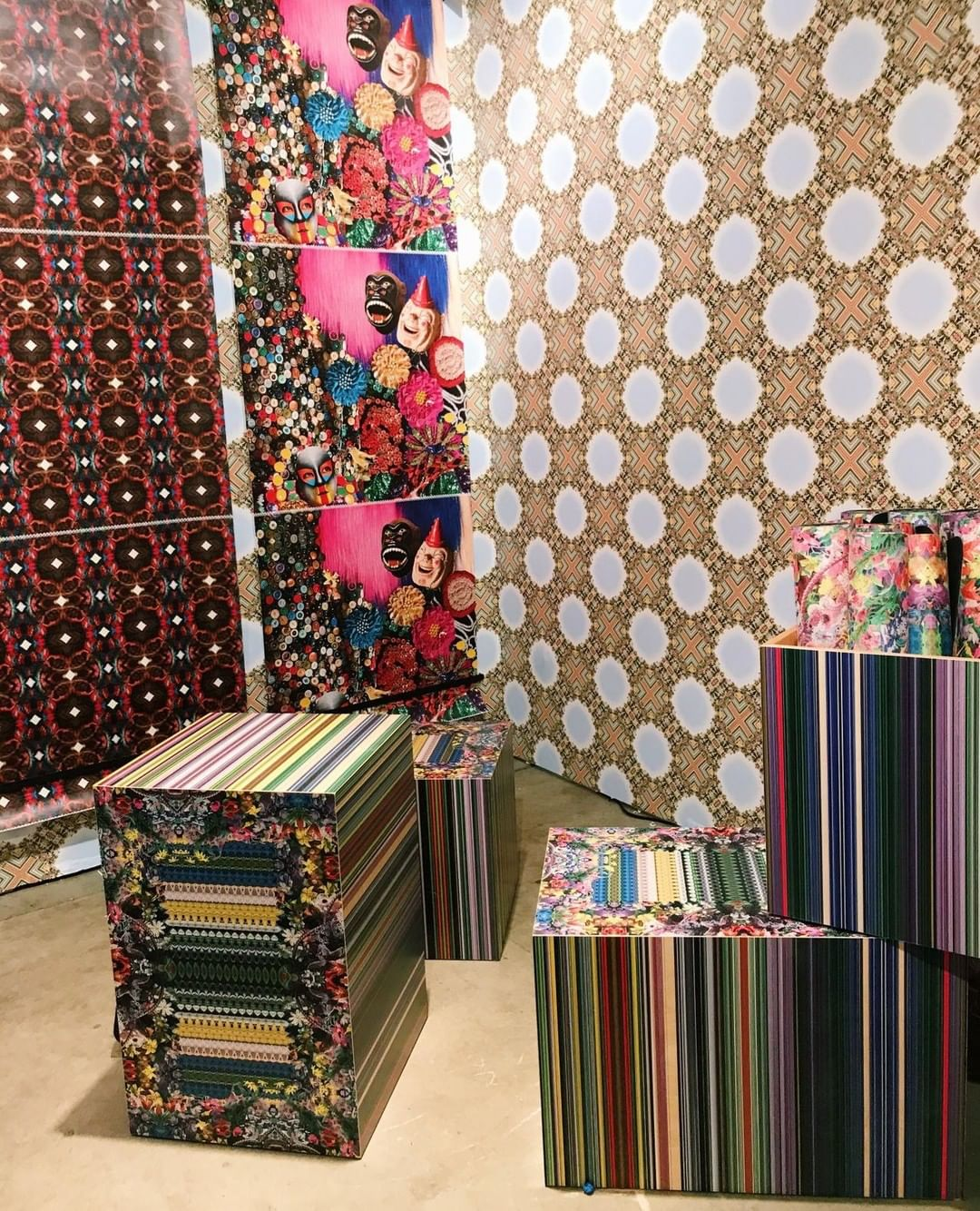 21chotels teamed up with Nick Cave and Bob Faust of Facility to create artist-designed contact sheets and yoga mats.