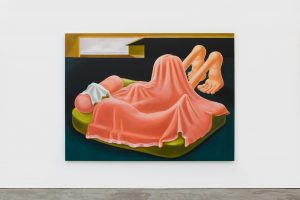 LOUISE BONNET Interior with pink blanket, 2019 FAD magazine