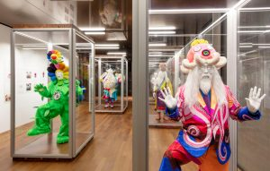 Takashi Murakami has a massive crazy show in Hong Kong FAD magazine