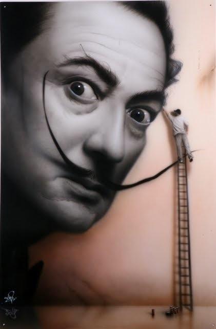 8 Street Artist SOAP's Salvador Dali
