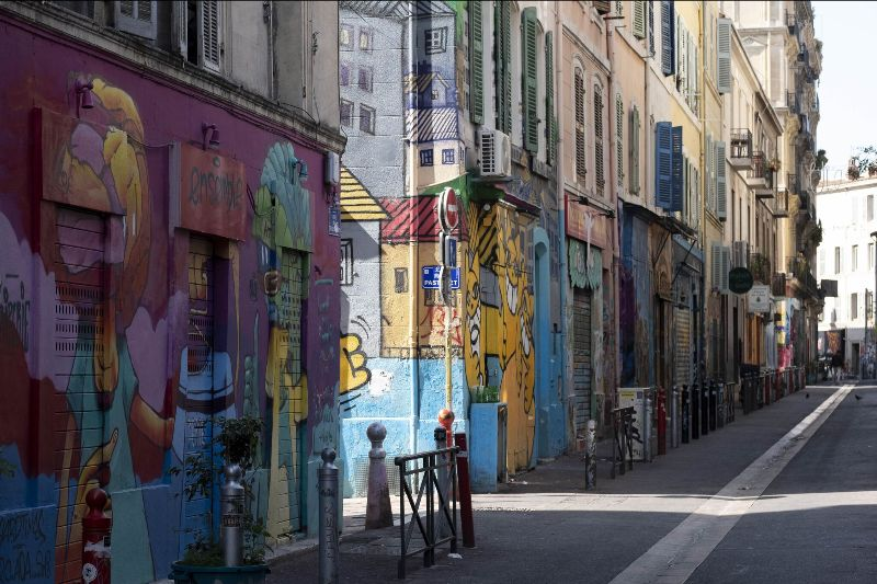 Image: View of Le Panier, oldest neighbourhood in Marseille, France © VOST / Manifesta FAD MAGAZINE