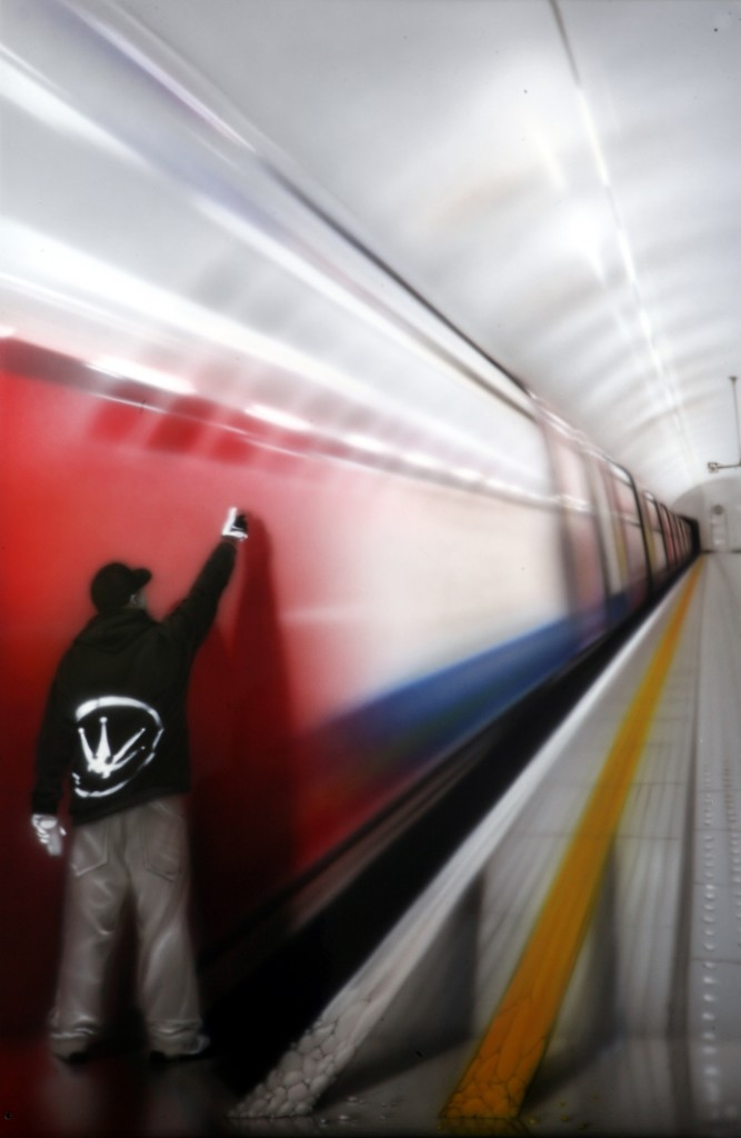 9 Street Artist SOAP canvas London