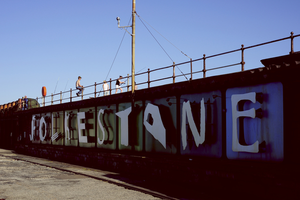 Folkestone Triennial 2014 http://www.folkestonetriennial.org.uk/    Patrick Tuttofuoco, Folkestone Express, 2008