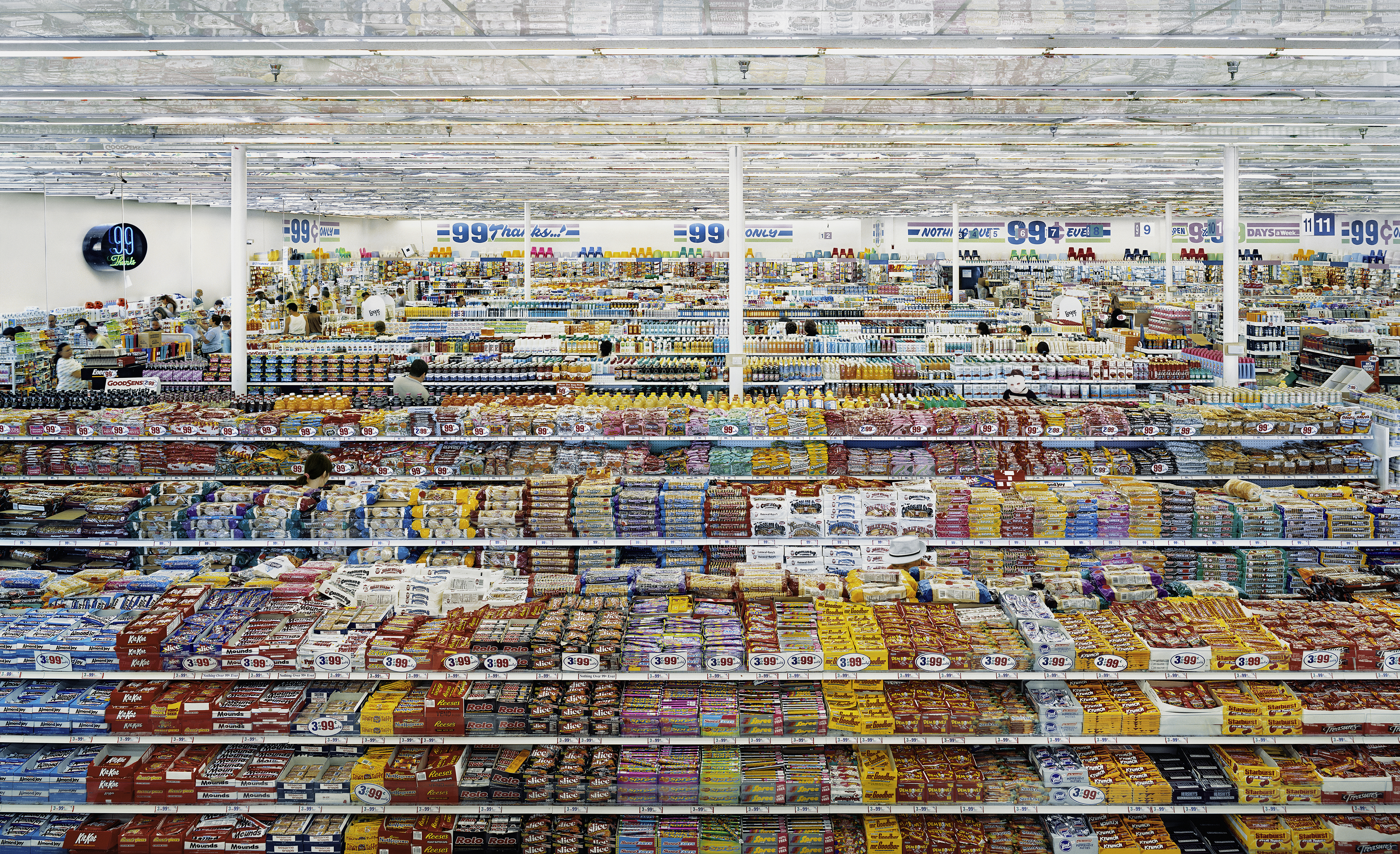 99 Cent 1999 Remastered 2009 C Andrea Gursky FAD Magazuine