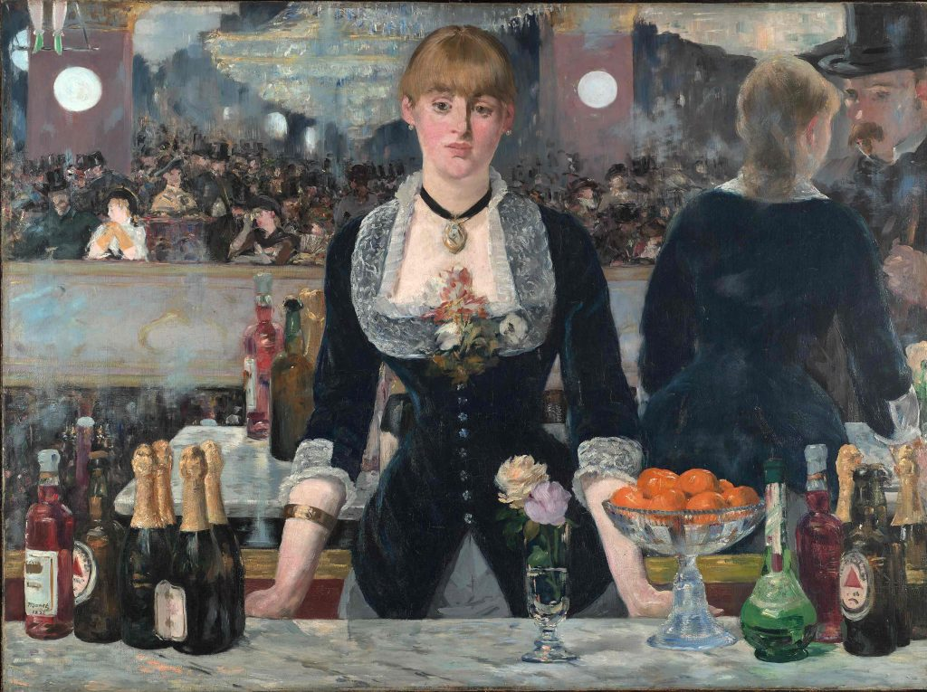 Edouard Manet (1832-83) A Bar at the Folies-Bergère 1881-2 Oil on canvas 96 x 130 cm