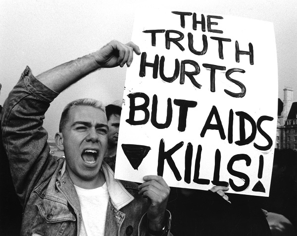 ACT-UP, World AIDS Day, 1 December 1989