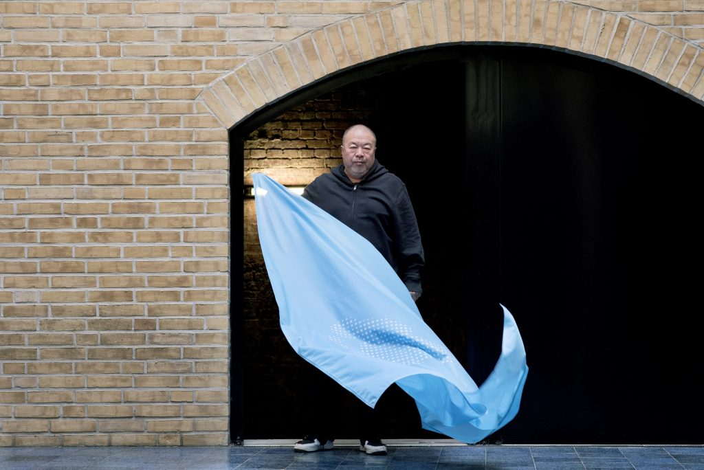 AI-WEIWEI-CREATES-FLAG-TO-MARK-70TH-ANNIVERSARY-OF-DECLARATION-OF-HUMAN-RIGHTS-CREDIT-CAMILLA-GREENWELL-3