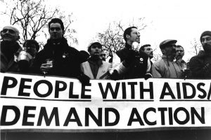 AIDS and Human Rights Candlelight Procession, 24 January 1988