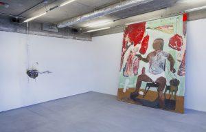 Adriano Amaral, Untitled, 2018, and Maïa Regís, Ramon Reyna, 2018 courtesy VO Curations