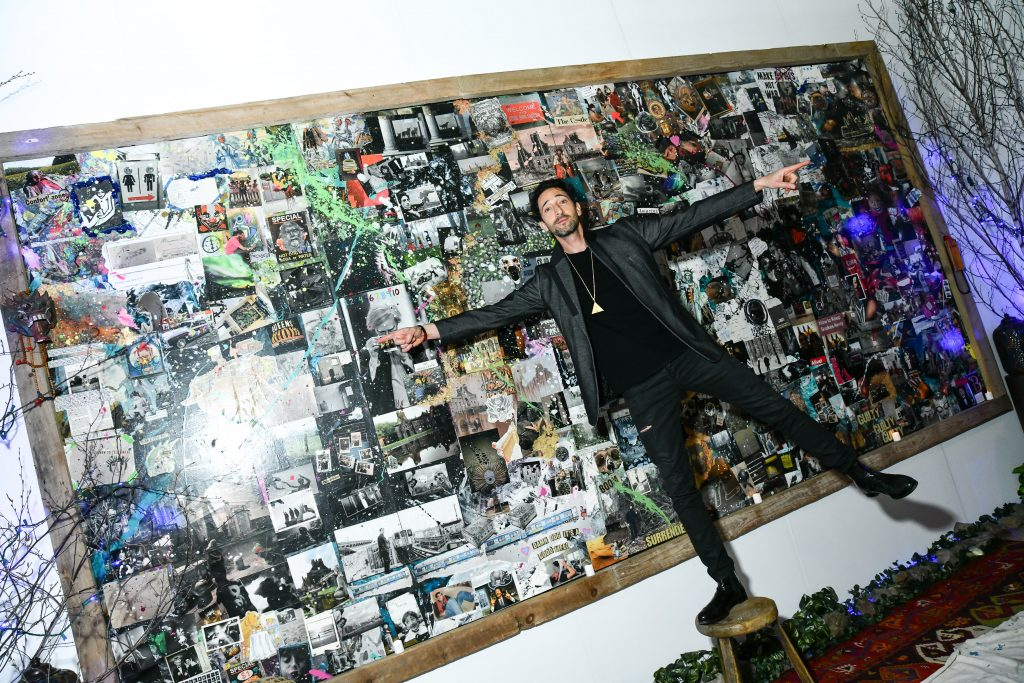 Adrien Brody== Art New York== Pier 94, New York, NY== May 3, 2018== ©Patrick McMullan== Photo - Jared Siskin/PMC== ==