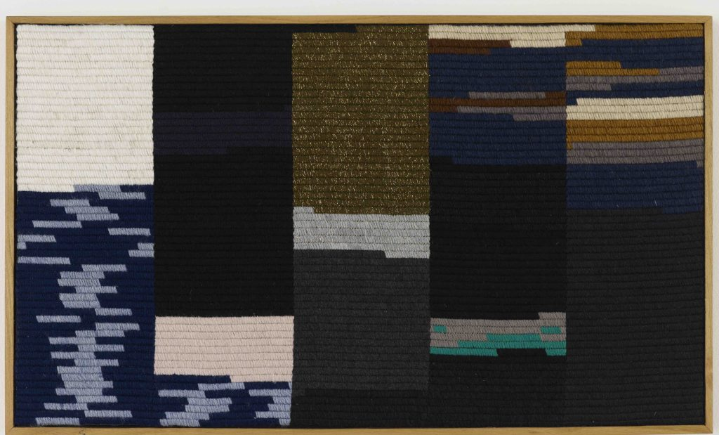 FAD MAGAZINE Alek O., Edward Higgins White III (2011), Embroidery, 43 x 22.5 x 3.5cm, Arts Council Collection, Southbank Centre, London © the artist. Gift of the artist 2014.
