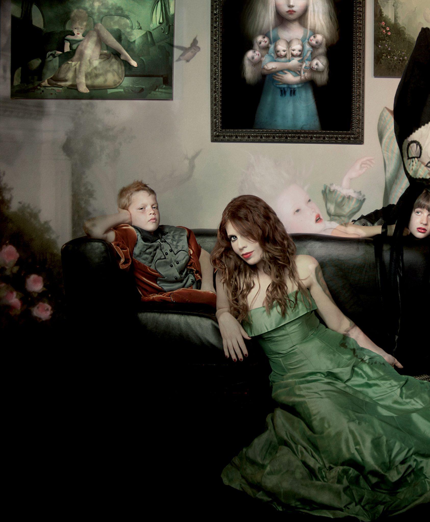 Alexandra Mozzanti portrait FAD Magazine