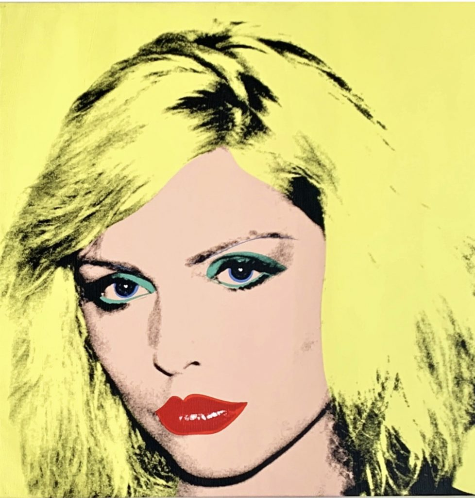 Andy Warhol (1928 – 1987) Debbie Harry 1980?Private Collection of Phyllis and Jerome Lyle Rappaport 1961?© 2019 The Andy Warhol Foundation for the Visual Arts, Inc / Artists Right Society (ARS), New York and DACS, London FAD Magazine