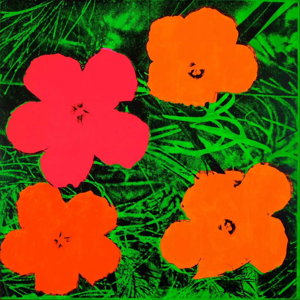 Andy Warhol (1928 – 1987) Flowers 1964 Private collection © 2019 The Andy Warhol Foundation for the Visual Arts, Inc / Artists Right Society (ARS), New York and DACS, London