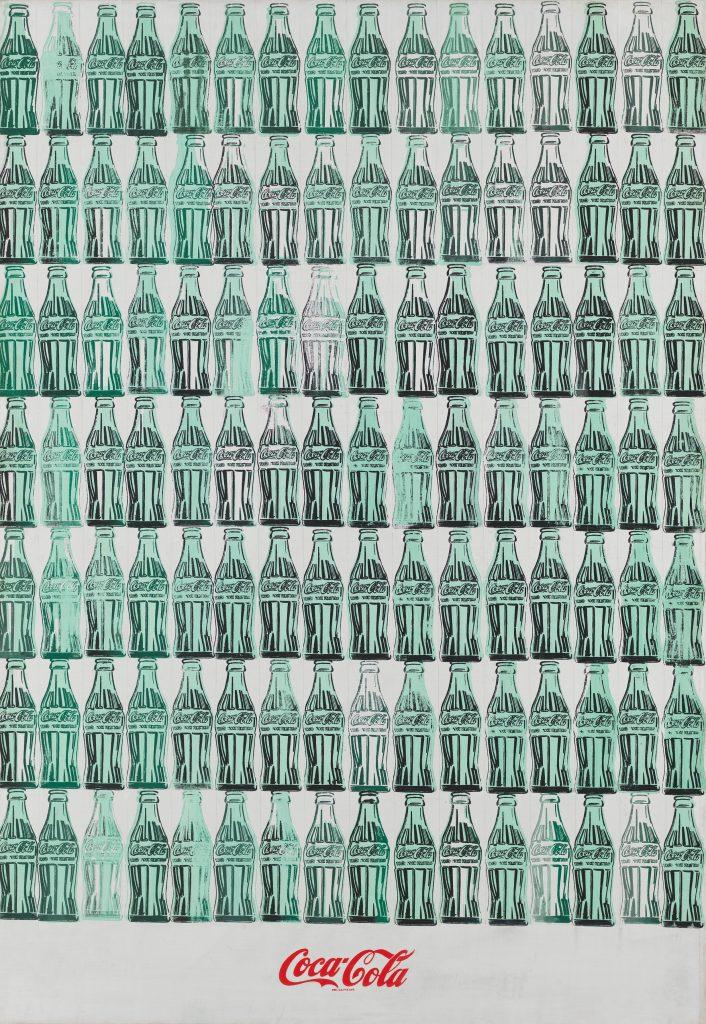 Warhol Green Coca Cola Bottles FAD MAGAZINE