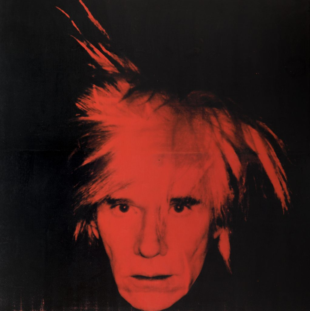 Warhol Self-Portrait FAD MAGAZINE
