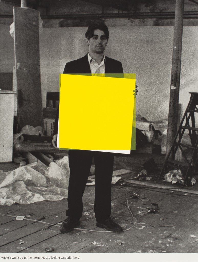 Angus Fairhurst When I Woke up in the Morning the Feeling was still there_yellow 1997