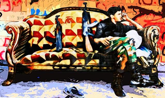 Annie Terrazzo, It's Syria, 2013, 17 x 30 x 2 cm