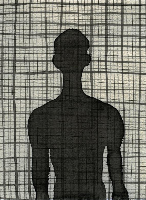 WAIT II by Antony Gormley. Courtesy the artist.