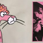 Arnaud Desjardin, Untitled (Pink Panther), 2018, Ink on paper and mixed media FAD Magazine
