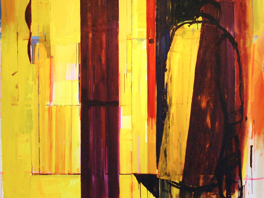 Ashley-Hanson-City-of-Glass-31-A-Study-in-Violet-Oil-on-Canvas-180-x-200-cm