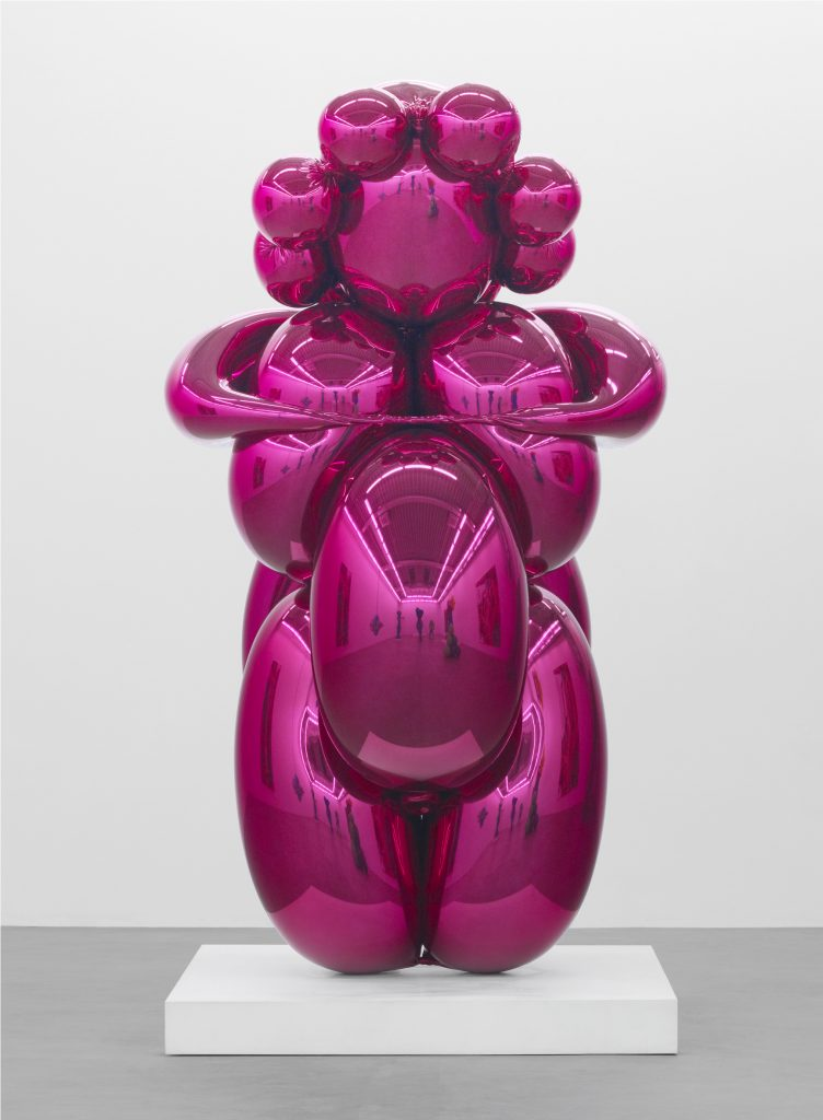Jeff Koons (b. 1955)Balloon Venus (Magenta)mirror-polished stainless steel with transparent colour coating259.1 x 121.9 x 127 cm© Jeff Koons 5 unique versions (Magenta, Red, Violet, Yellow, Orange)2008–2012