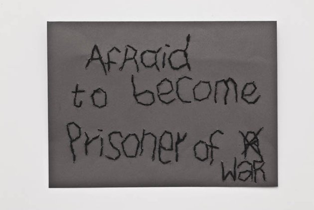Batia_Shani_Afraid_to_become_prisoner_of_war_2015_embroidered_envelope_2b02b5c6eb
