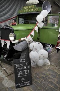 Bedford truck Vauxhall Art Car Boot Fair 2013 (73)