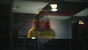 Behind the scenes of Frances Stark's The Magic Flute, 2017, Courtesy Alexa Karolinski