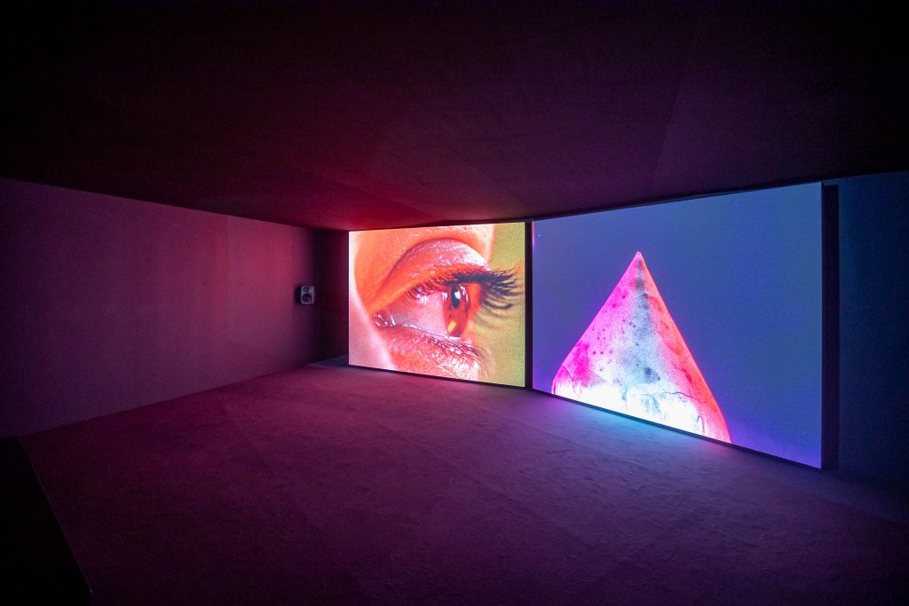 Benedict Drew, Installation view of The Bad Feel Loops