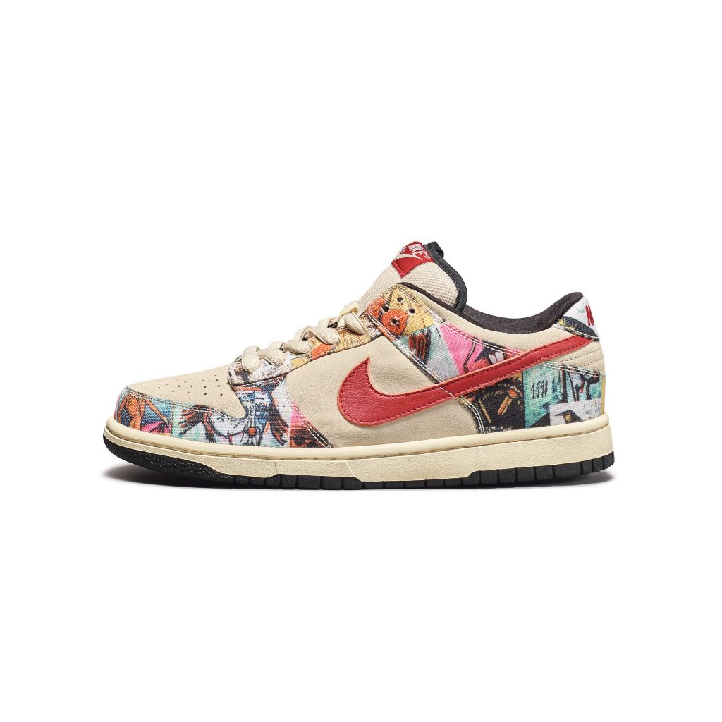 Bernard Buffet & Nike | 'Paris' Production Test,Sample Nike Dunk Low Pro SB | Size 8.5 FAD magazine