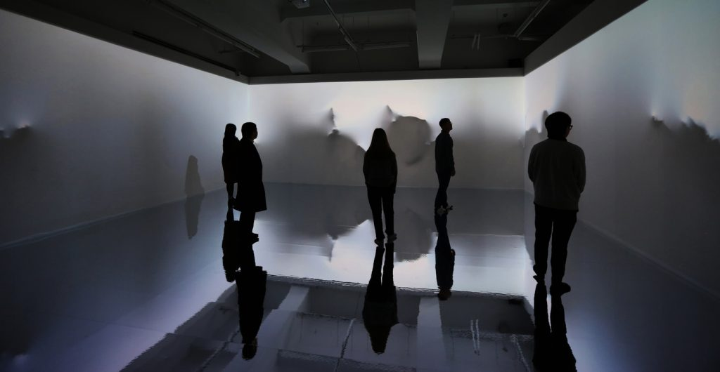 Beyond the Scene, Yiyun Kang. Render images, projection mapping installation, 2020