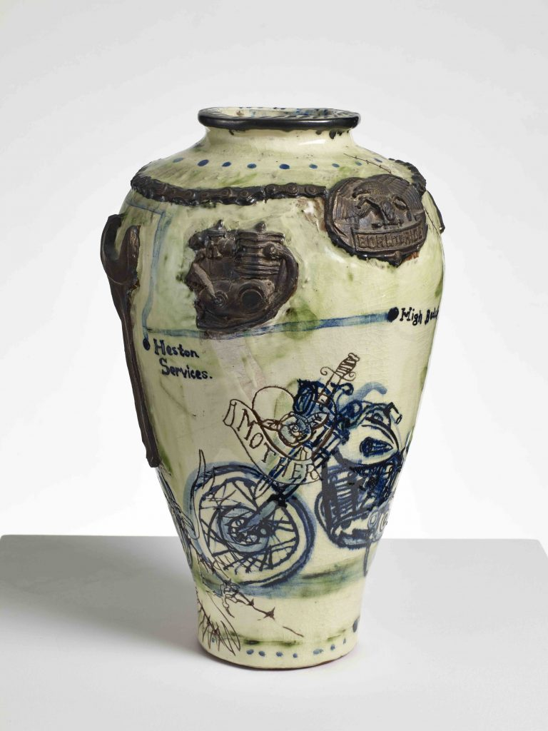 Grayson Perry Biker Pot , 1992, Collection of the artist FAD MAGAZINE