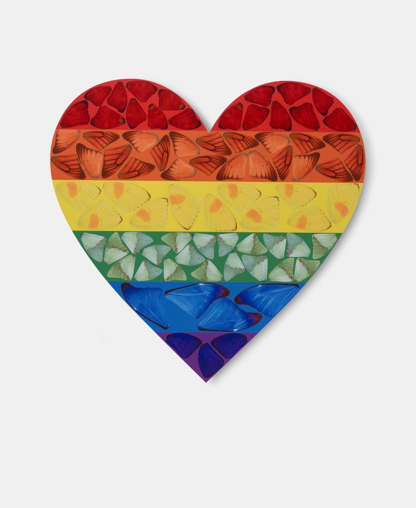 FAD MAGAZINE DAMIEN HIRST Butterfly Heart, 2020 (1)