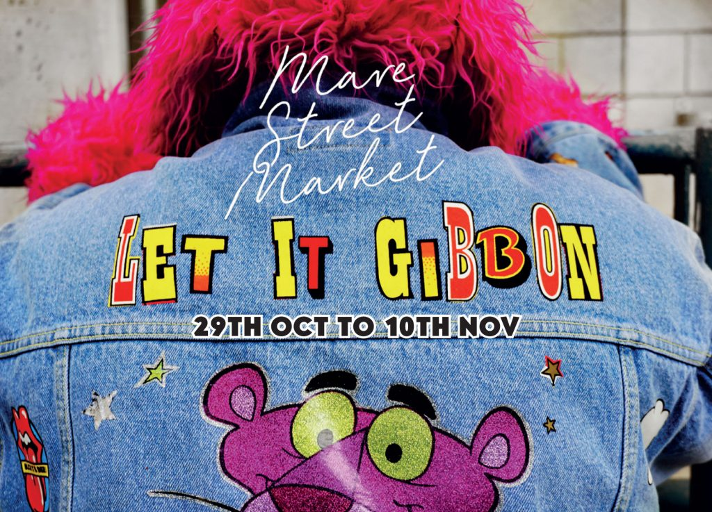 Let it Gibbon Pop Up Shop and Halloween Party  - Don't Miss It -