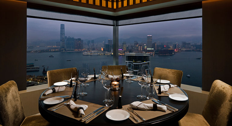 CGD-semi-private-dining-booth-with-harbour-view