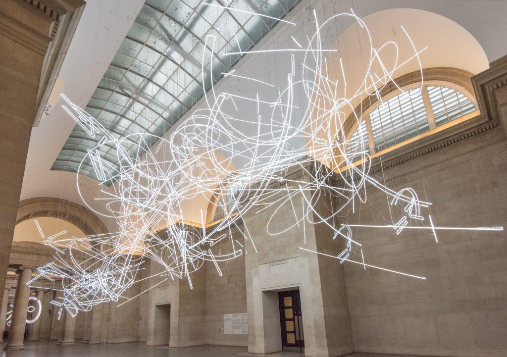 Cerith Wyn Evans Forms in Space by Light (in Time) 2017 FAD MAGAZINE
