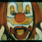 Bruce Nauman  Clown Torture 1987  Four channel video with sound (two projections, four monitors), approximately one-hour loop  The Art Institute of Chicago, Watson F. Blair Prize, Wilson L. Mead, and Twentieth-Century Purchase funds; through prior gift of Joseph Winterbotham; gift of Lannan Foundation, 1997.162  © ARS, NY and DACS, London 2020?  FAD magazine