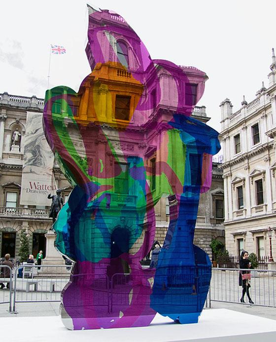 Jeff Koons Coloring Book Sculpture Raises Over 13